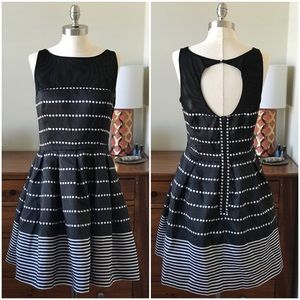 Just Taylor sleeveless party dress